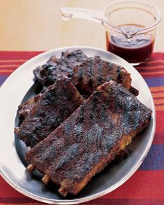 Easy Barbecued Spare Ribs