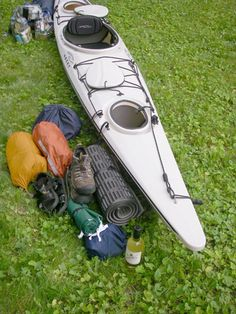 Kayak camping guide and checklist.