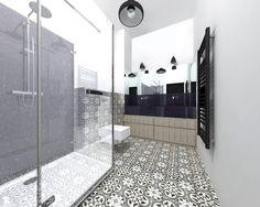 Łazienka styl Industrialny - zdjęcie od BIG IDEA studio projektowe - Łazienka - Styl Industrialny - BIG IDEA studio projektowe