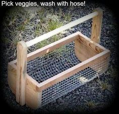 Other than dowel, could be pallet wood. Would like to even try rope for handle. Sell at farmers market?