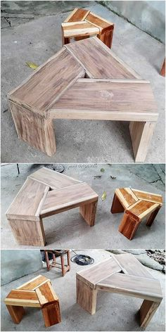 Awesome DIY Wood Pallet Recycling Tips: Reusing the old wood pallet is now not that tons hard undertaking as you has thought out to be. Diy Pallet Projects, Woodworking Projects Diy, Diy Wood Projects, Pallet Ideas, Wood Crafts, Woodworking Basics, Woodworking Clamps, Woodworking Workbench, Woodworking Supplies