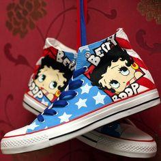 Betty Boop   Community Post: 15 Unique Customized Converse Sneaker Designs