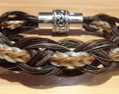 Custom resin pendant sterling silver resin horse by Enigmahorse Horse Hair Bracelet, Horse Hair Jewelry, Hair Jewellery, Tribal Bracelets, Woven Bracelets, Jewelry Bracelets, Horse Hair Braiding, Silver Horse, Mane Attraction