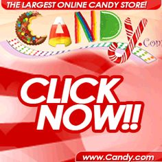 Candy is the largest on line candy store, offering more then 6000 types of candy .At Candy you can shop by colour so you can get candy for that special kids party you are planning