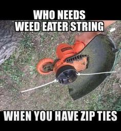 weed wacker landscaping techniques
