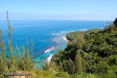 The Kalalau Trail is a challenging hike.  I'd recommend the 4 mile hike to the waterfall.  You can only hike the full 11 miles with a permit.