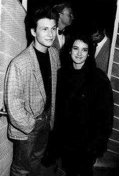~NONI~ — vintagesalt: Christian Slater and Winona Ryder. Christian Slater Heathers, Young Christian Slater, Jason Dean Heathers, Jd Heathers, Winona Ryder 90s, Jd And Veronica, Winona Forever, Attractive People, Heather Chandler