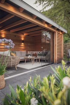 Outdoor Garden Rooms, Outdoor Pergola, Backyard Patio Designs, Small Backyard Landscaping, Garden Architecture, Garden Buildings, Contemporary Garden Rooms, Garden Cabins, Home Garden Design