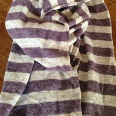 Cashmere scarf Very cute striped scarf- measures  20 wide by  84 long Pur cashmere Accessories Scarves & Wraps