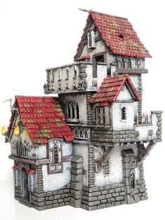 Warhammer Haunted Tower 2 (Converted Fortified Manor House… | Flickr