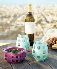 Lifefactory'S wine glasses are a delight to share your favorite white or red vino with a friend or as an everyday staple for a cup of water, natural soda or juice!