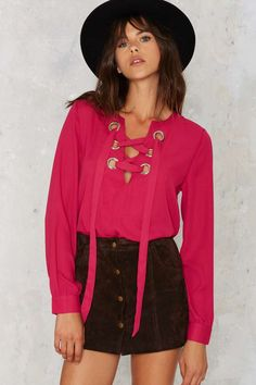 In A Bind Lace-Up Top | Shop Clothes at Nasty Gal!