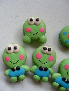 Frog macarons WOW!