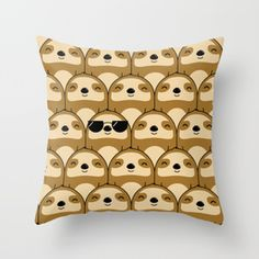 Sloth pillows … 28 pages of them. Some are cute, some are weird, and some are scary.