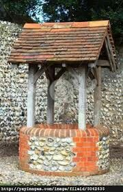 Water well with built in shelter
