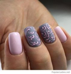 Newest Nail Art Designs Gallery fabulous new nail art design for prom dinga poonga Newest Nail Art Designs. Here is Newest Nail Art Designs Gallery for you. Newest Nail Art Designs nail art 2019 top trends you should look out for all. Fancy Nails, Trendy Nails, Cute Nails, Fabulous Nails, Gorgeous Nails, Amazing Nails, Nagellack Design, Grey Nail Art, Grey Nail Designs