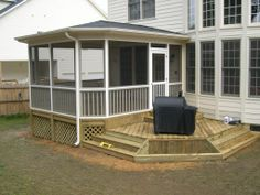 Porch Roof, Screened Porches, Porch Designs, Deck Patio, Porch Ideas, Home  Ideas, Hip Roof Design, Pattern, Window