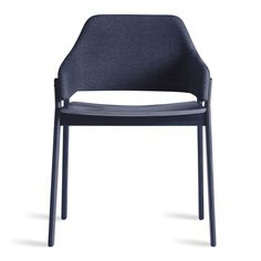 Clutch Dining Chair - Curved Back Dining Chair   Blu Dot