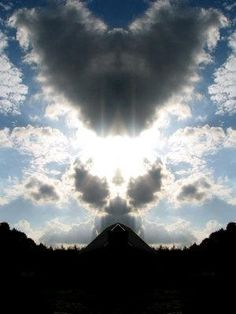 Sometimes all you need to do it look up #love #faith #angels
