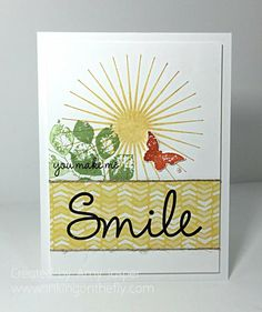 Sunshine and Smiles by Starbug - Cards and Paper Crafts at Splitcoaststampers