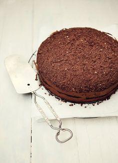chocOlate almond sour cream coffee cake