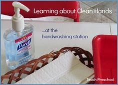 #Ad Learning about clean hands at the hand washing station!  #PURELL30