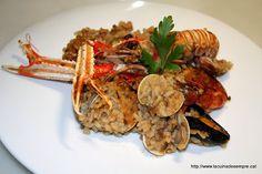 La cuina de sempre: Paella de marisc