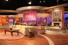 Hot off the Set visits star Ricki Lake and Set Decorator Regina O'Brien SDSA for television's hottest new talk show! Ricki shares her thoughts about the show's décor and specifically, for THE RICKI LAKE SHOW, with its gorgeous, fresh and fun main set… requires. She also generously shares her resources for some of the great pieces she's placed on the set…so check it out! http://www.setdecorators.org/incEngine/sites/setdecorators/rickilakewideshot.jpg