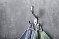 Háček velký, chrom : SAPHO E-shop Bathroom Accessories, Bathroom Hooks, Retro, Shop, Bathroom Fixtures, Retro Illustration, Store