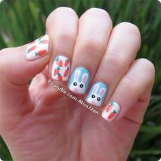 missjjan easter #nail #nails #nailart