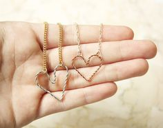 D.I.Y WIRE HEART JEWELRY  Valentine's Day is coming up, and if you want to show your friends how much you love them here's the perfect gift – a wire heart necklace or bracelet. You need: Pliers, a...