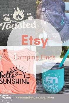 My favorite camping finds on Etsy to get you ready for an epic camping trip. #camping #campinstyle Florida Campgrounds, Florida Camping, Gifts For Campers, Camping Items, Camping Outfits, Summer Bucket Lists, Gifts For Women, Outdoors, Fall