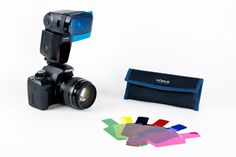 Might consider this to replace my 10+ yr old set of homemade flash gels. $30 from Photojojo.