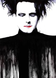 Love this! | The Cure's Robert Smith: