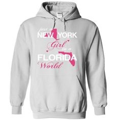 (NYJustHong001) Just ᓂ A New York Girl In A Florida 【title】 WorldIn a/an name worldt shirts, tee shirts