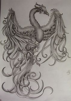 phoenix tattoo | Phoenix Tattoo Design By Tattoosuzette On Deviantart Design 900x1284 ...