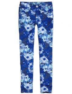 Printed Super Skinny Jeans @ shopjustice.com