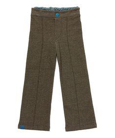Albababy retro box pants in brown. albababy.en.emilea.be