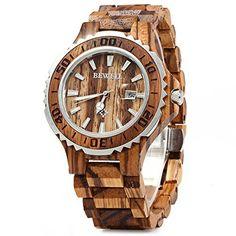 [$23.69 save 85%] Amazon #LightningDeal 79% claimed: Gearbest BEWELL ZS Wooden Watch Men Quartz with Luminous Ha... #LavaHot http://www.lavahotdeals.com/us/cheap/amazon-lightningdeal-79-claimed-gearbest-bewell-zs-wooden/144742?utm_source=pinterest&utm_medium=rss&utm_campaign=at_lavahotdealsus