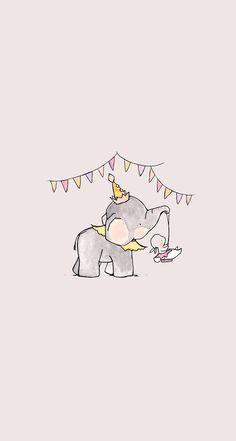#elephant #wallpaper #birthday #garland