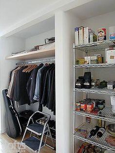 Fresh Start: Coat Closet Organization