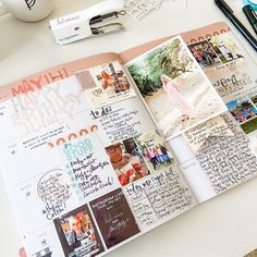 Planner Pages, Planner Ideas, Heidi Swapp, Life Organization, Smash Book, Travelers Notebook, Project Life, Stuff To Do, Road Trip