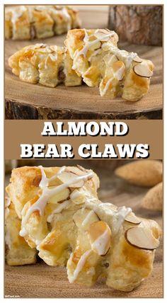 Almond Bear Claws