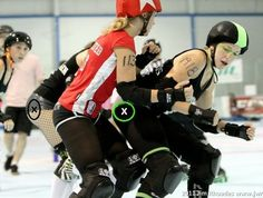 Merry Khaos New Skater Survival: Scrimmage Tips Class for Roller Derby #RollerCon