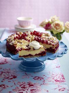 Unser beliebtes Rezept für Johannisbeer-Quarkkuchen und mehr als 55.000 weitere kostenlose Rezepte auf LECKER.de.