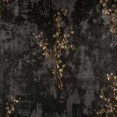 Zen in Charcoal and Gold by York Wallcoverings at www.burkedecor.com