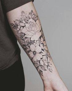 Tatouage avant bras, demi-manchette et bras complet- idées pour un choix avisé
