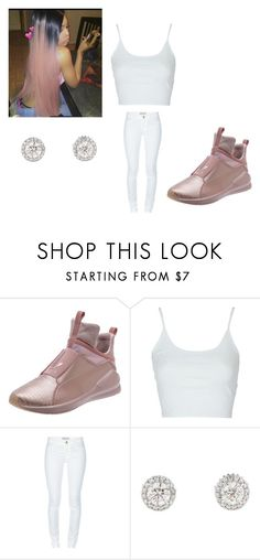 """""""Gassed Up"""" by tiaramb11 on Polyvore featuring Puma, Topshop and Emilio Pucci"""