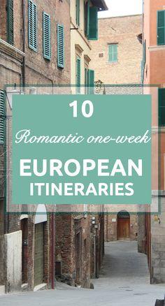 European Itineraries