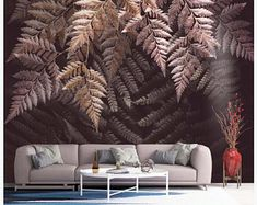 Watercolor Tropical Rainforest Banana Leaves Wallpaper | Etsy Jungle Wallpaper, Elephant Wallpaper, Wallpaper Wall, Textured Wallpaper, Custom Wallpaper, Leaves Wallpaper, Bedroom Wallpaper, Flower Wallpaper, Gardens